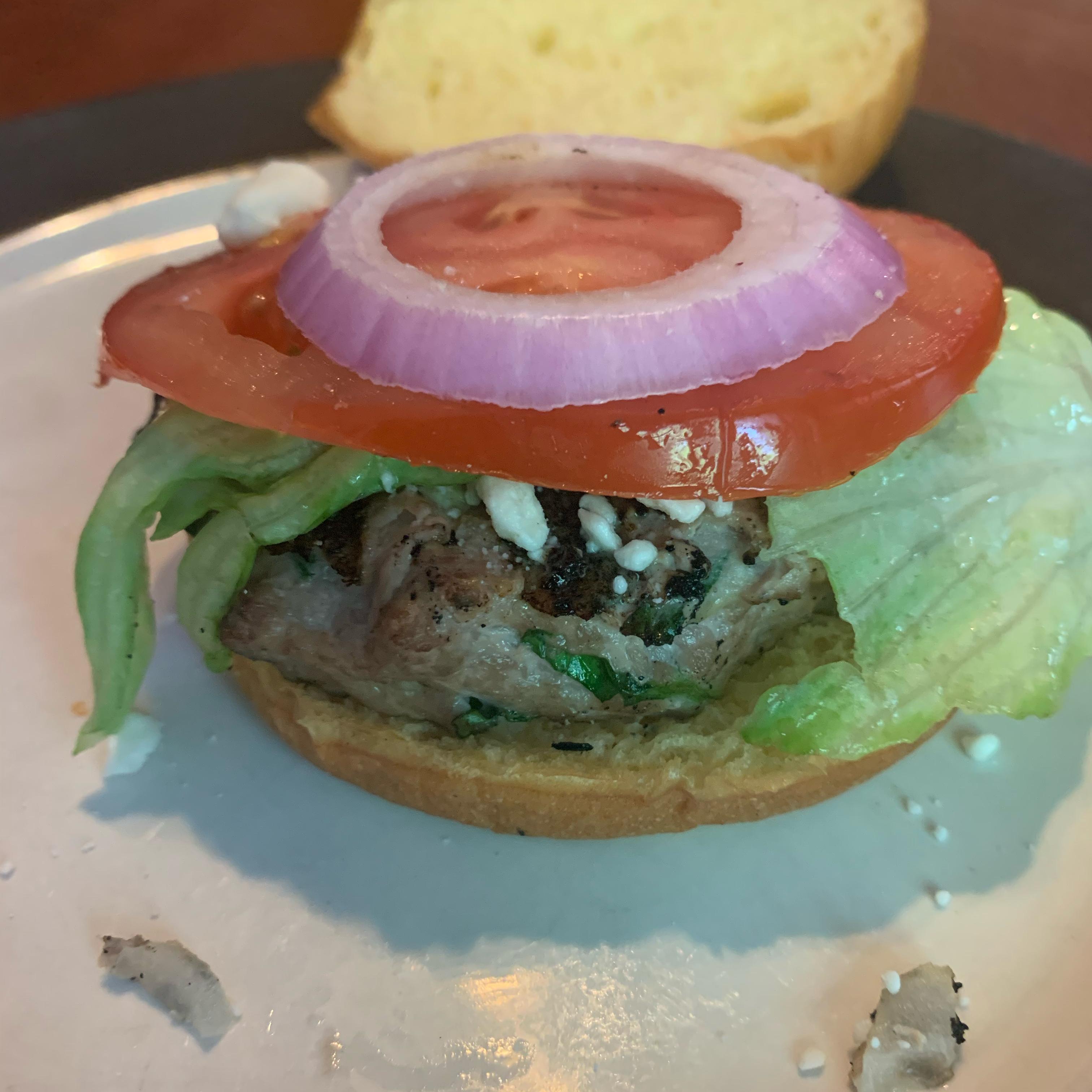 Greek Turkey Burgers sphillips