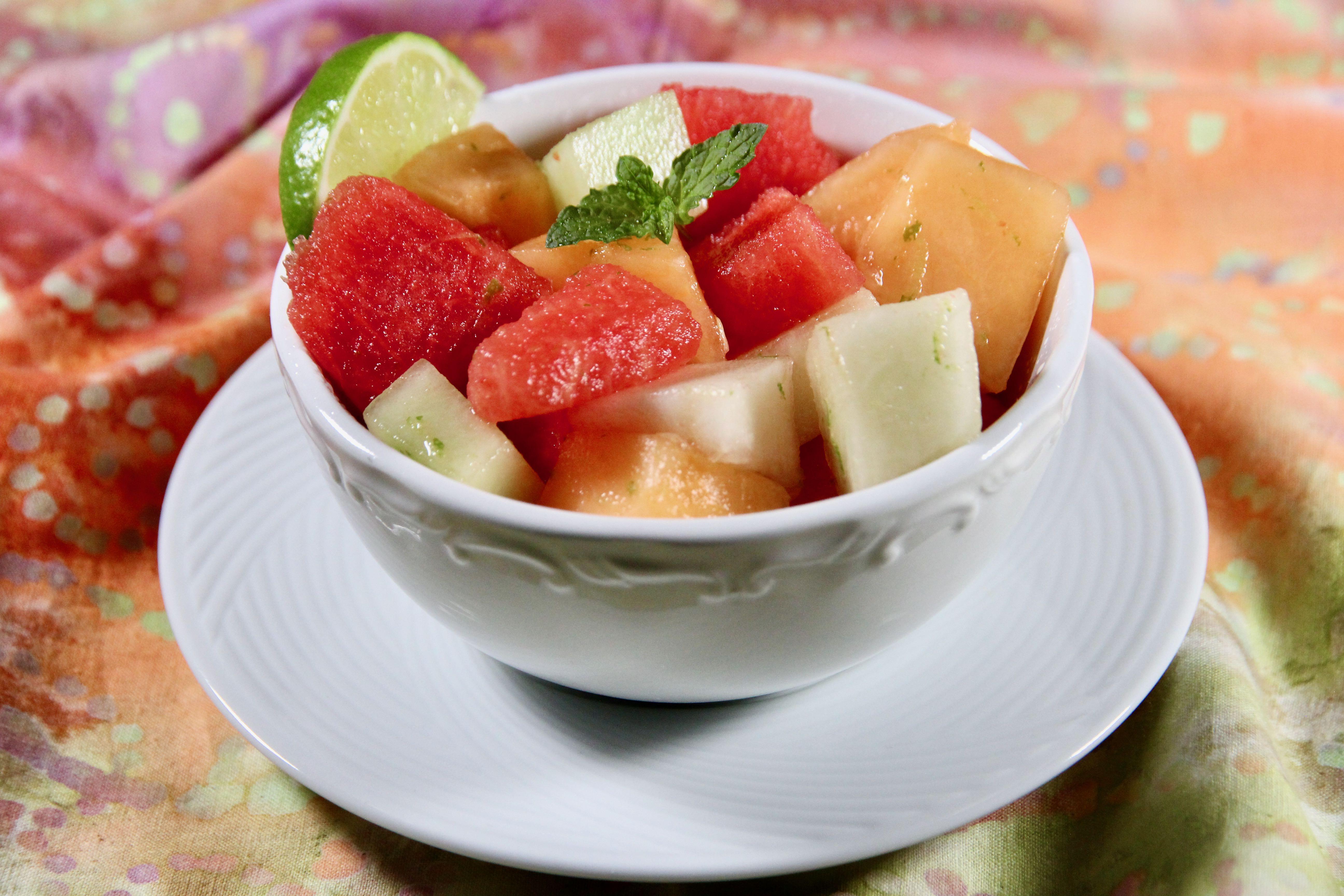 Refreshing Melon Salad
