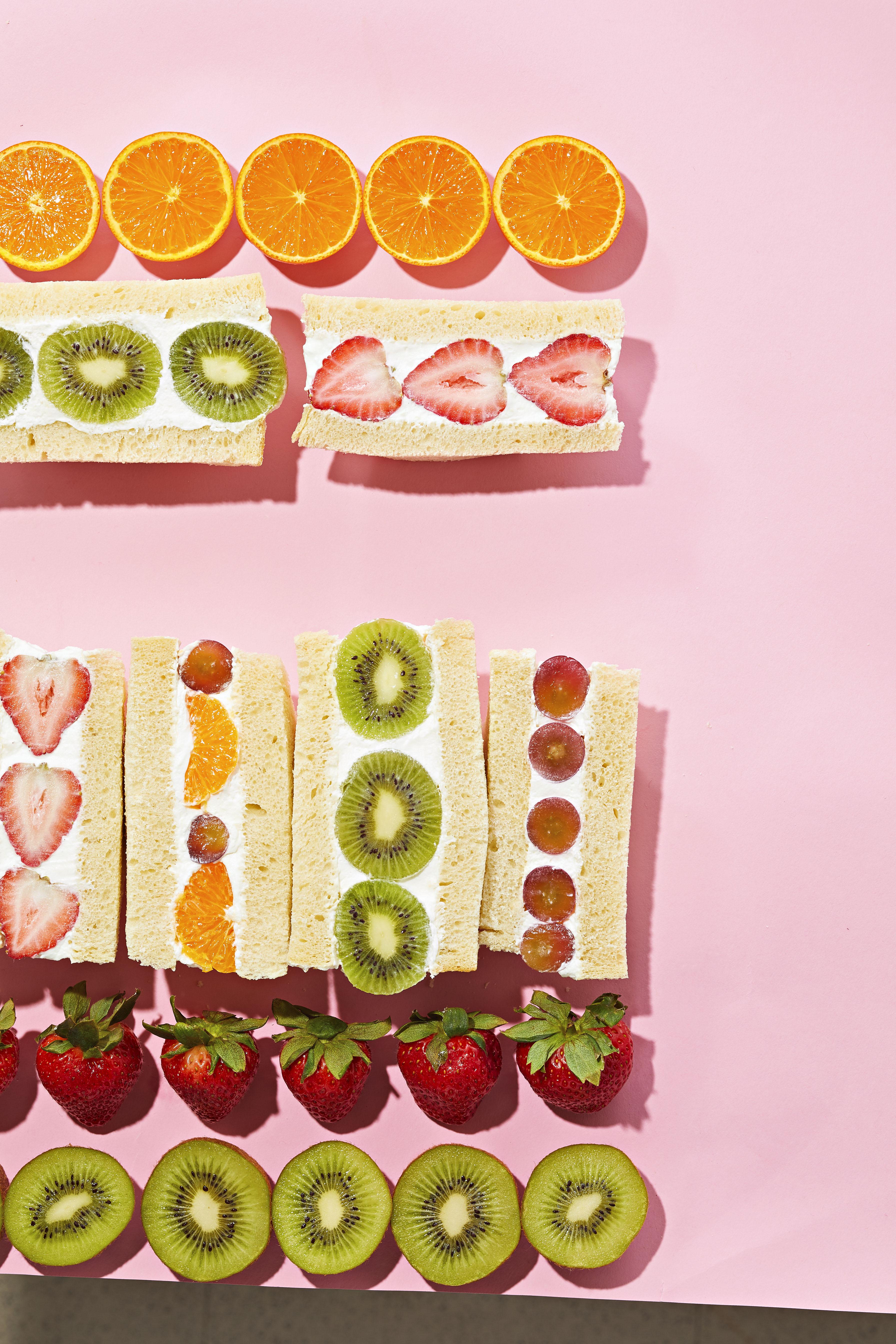 Furutsu Sando (Fruit Sandwiches)
