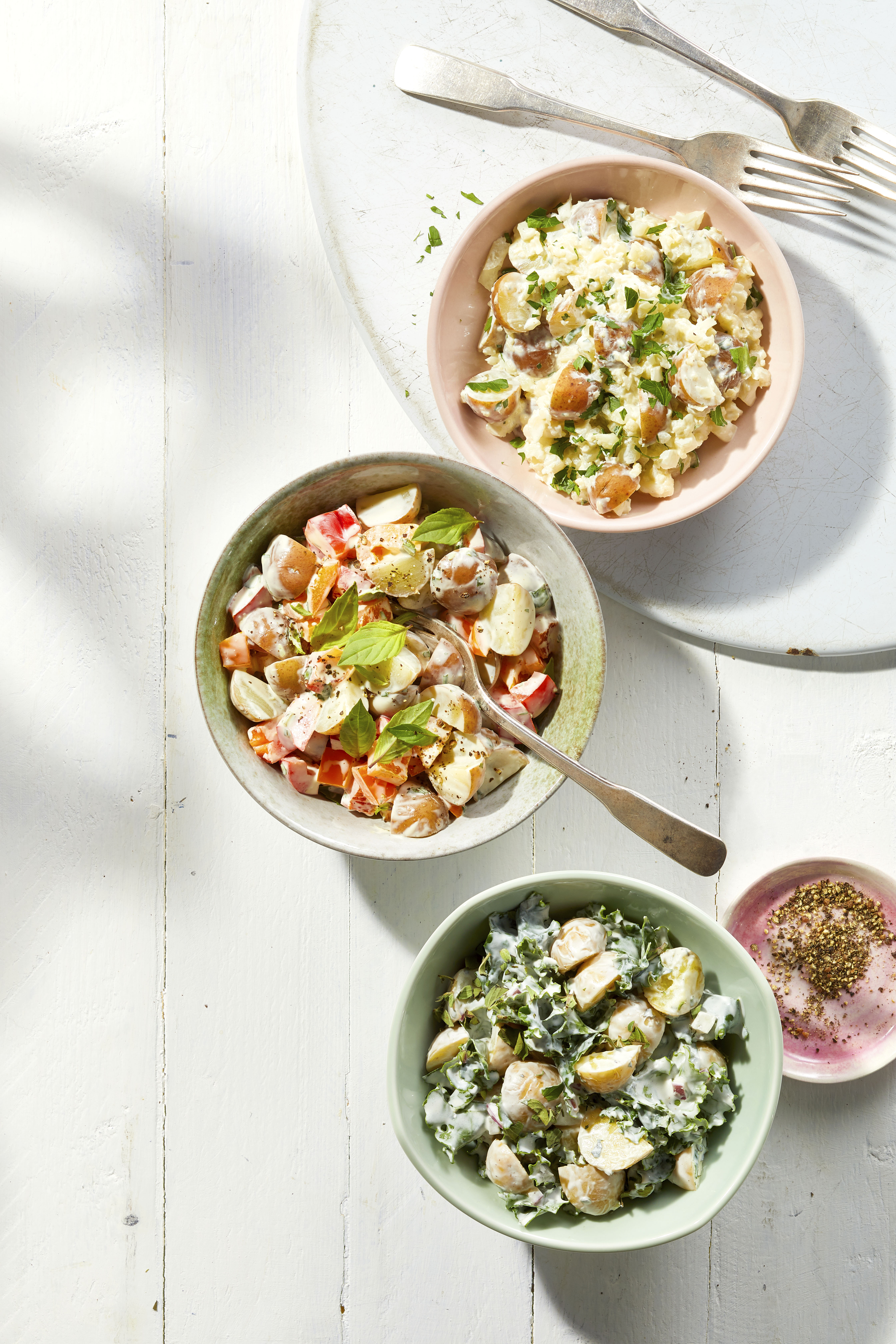 Healthier Creamy Potato Salad