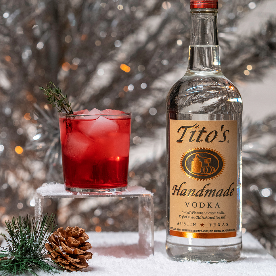 Tito's Holiday Thyme