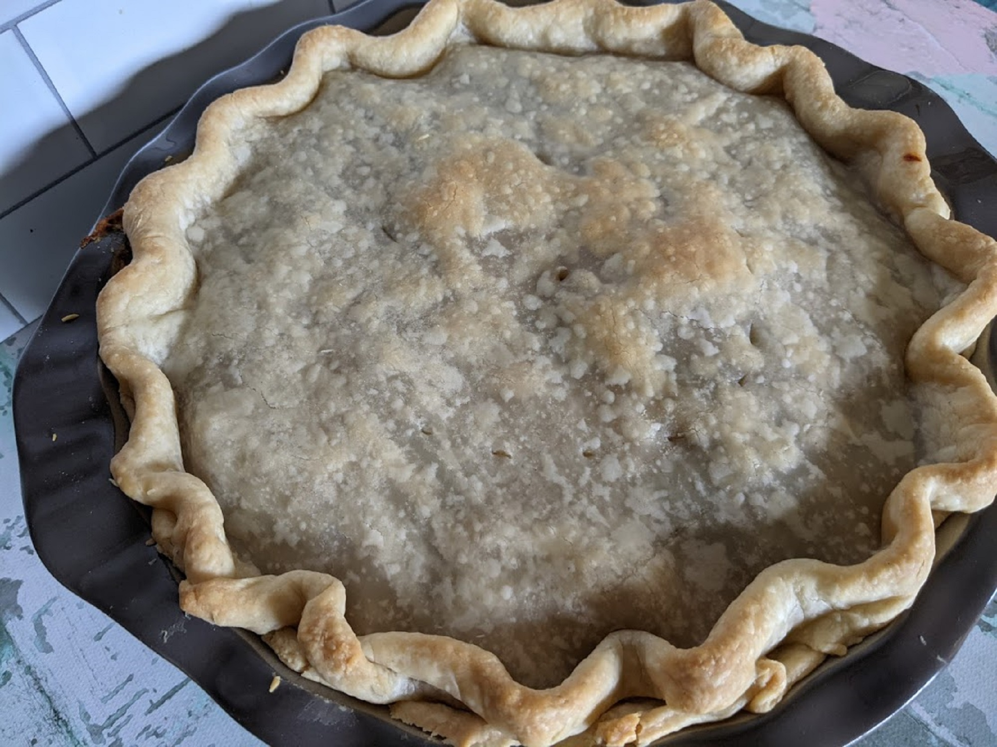 Country Chicken and Mushroom Pot Pie