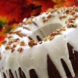 Pumpkin Cake with Orange Glaze naples34102