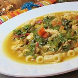 Beans, Greens and Garlic Soup naples34102