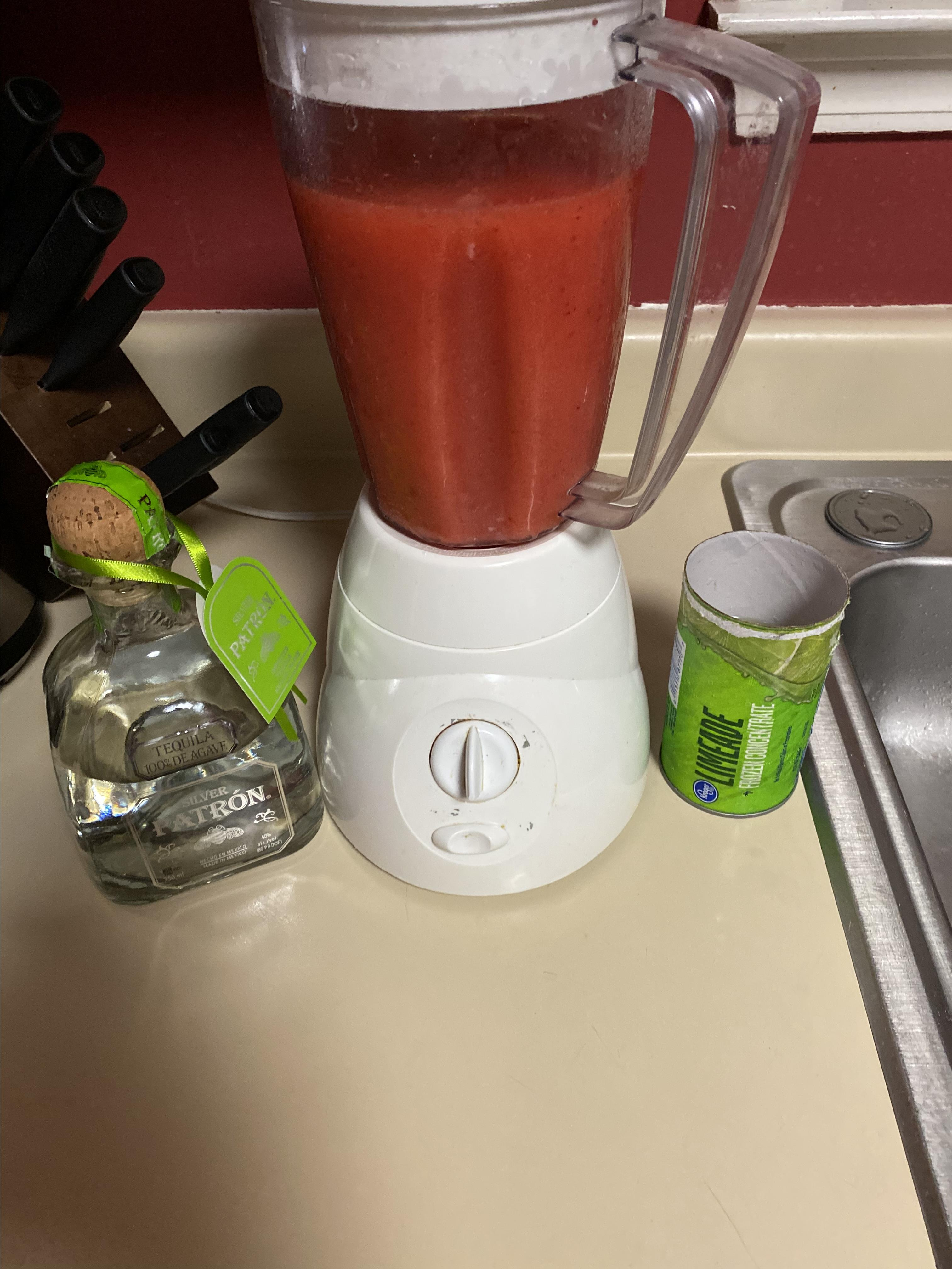 Ultimate Frozen Strawberry Margarita