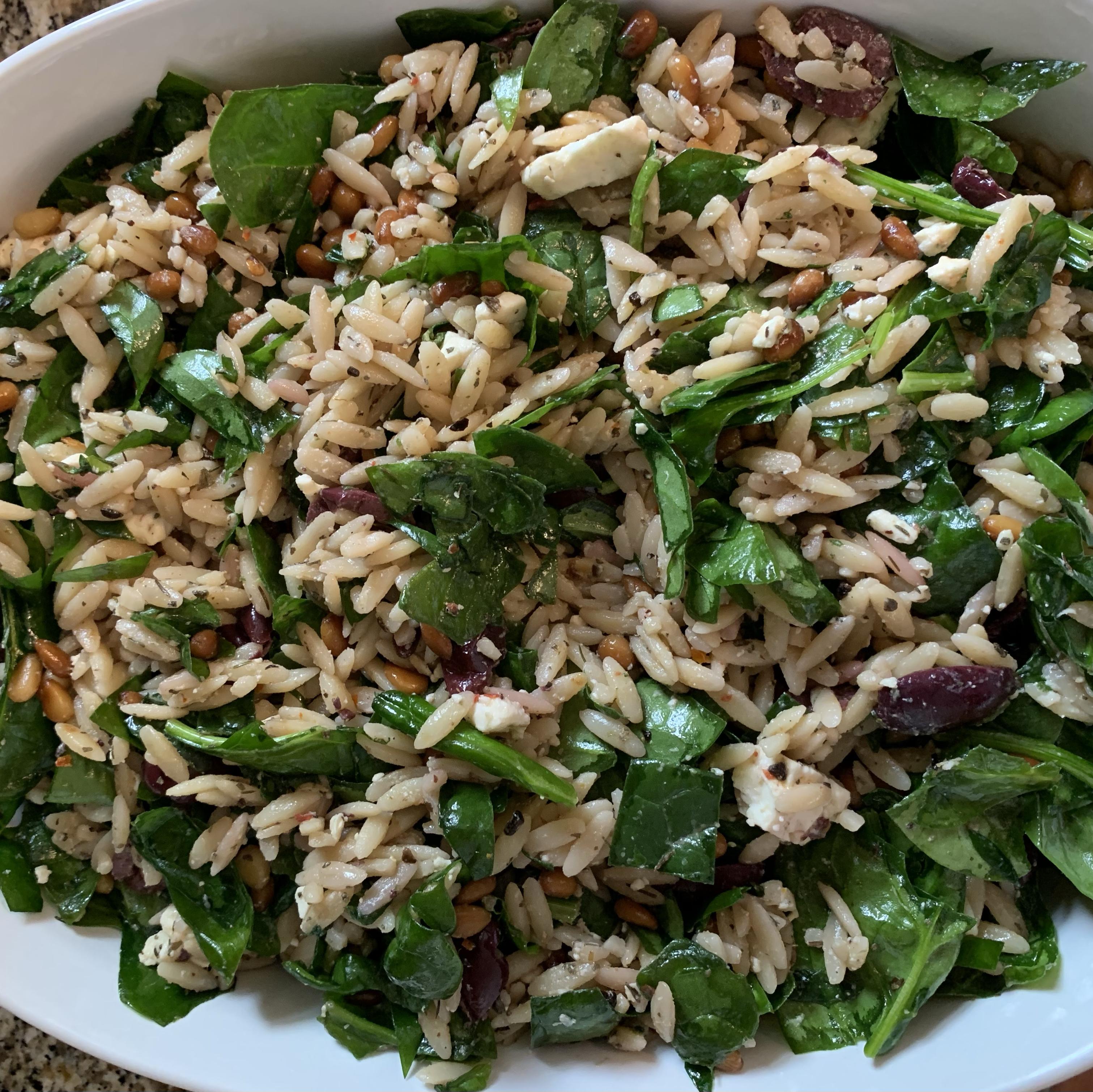 Refreshing Summer Orzo Salad katecima