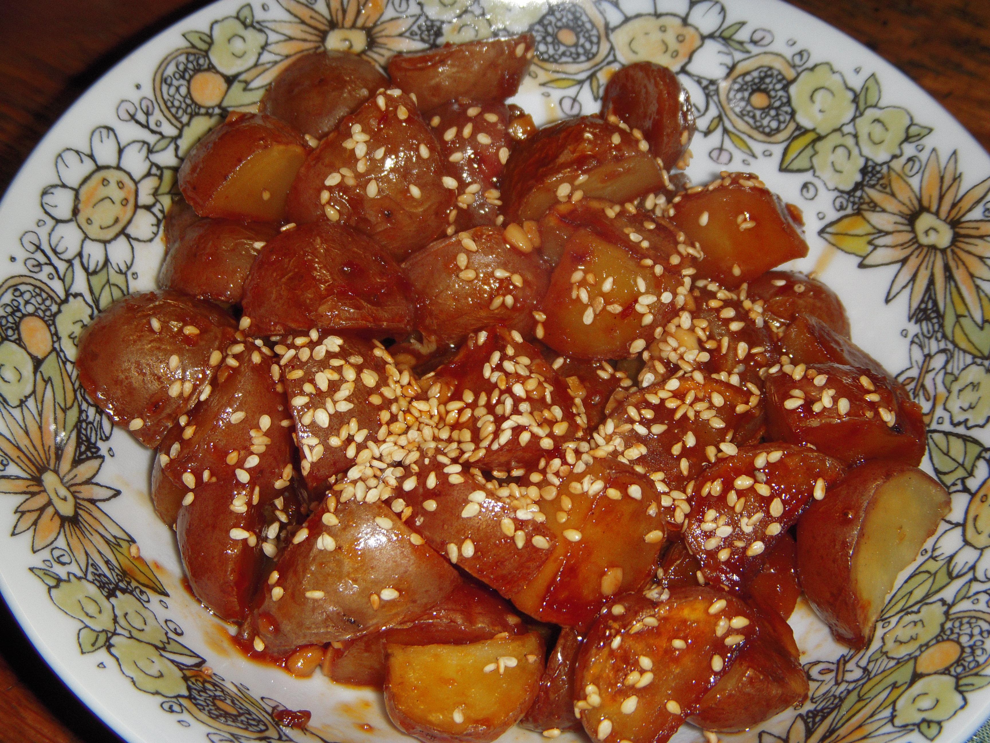 Korean Potatoes Kathleen Hartman