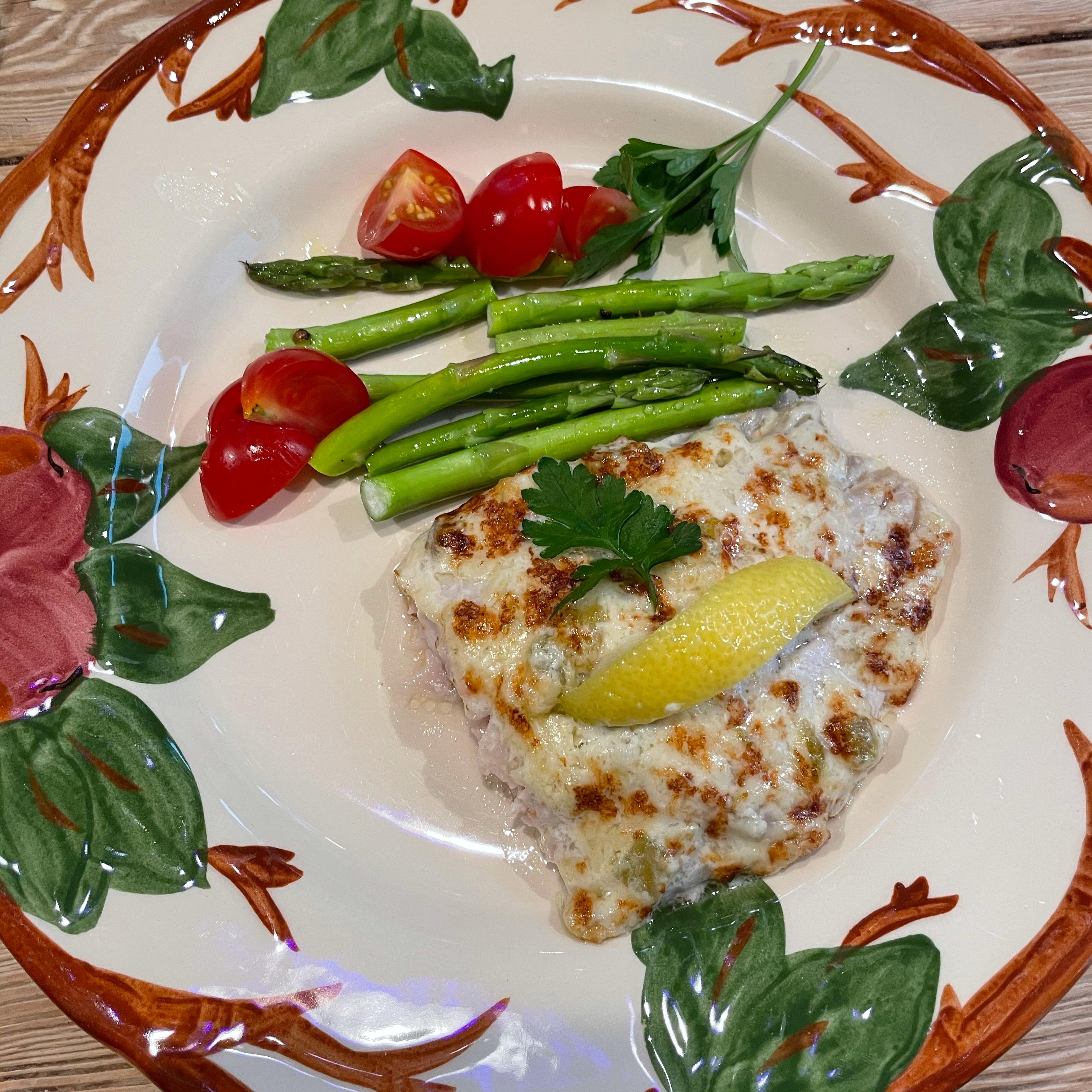 Broiled Grouper Parmesan Teresa Welsh