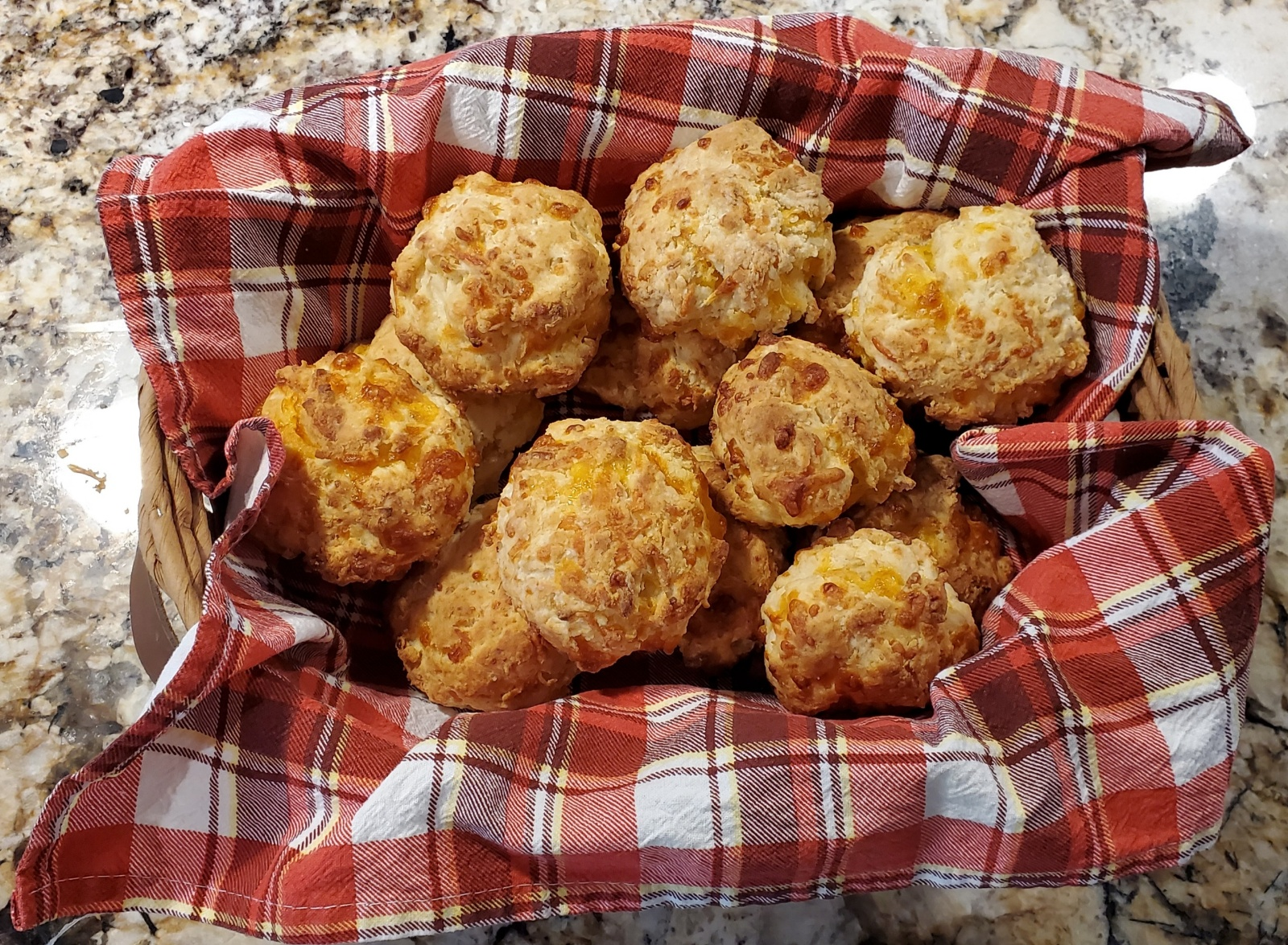 Cheddar Onion Drop Biscuits image