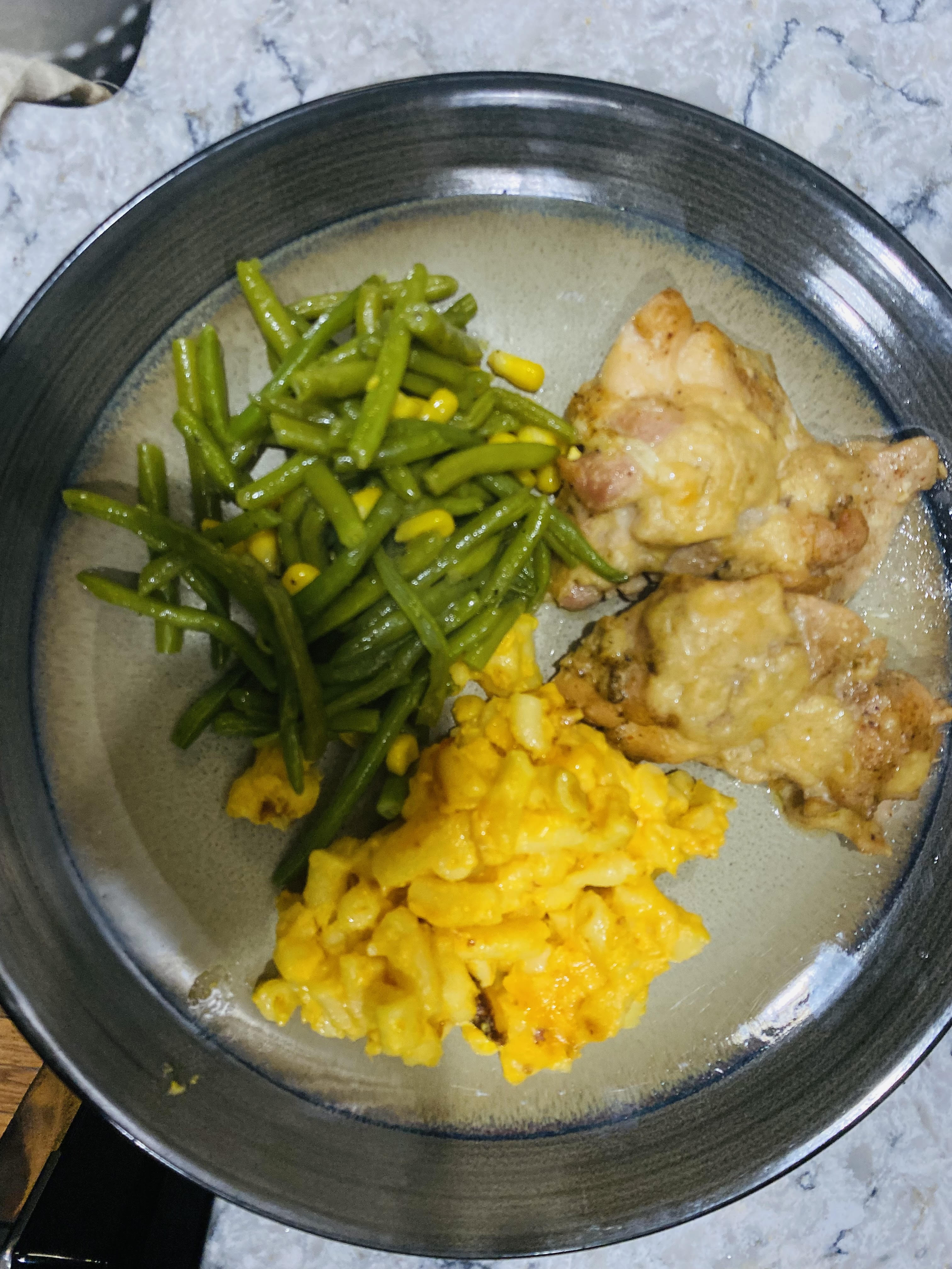Creamy Lemon Chicken Thighs