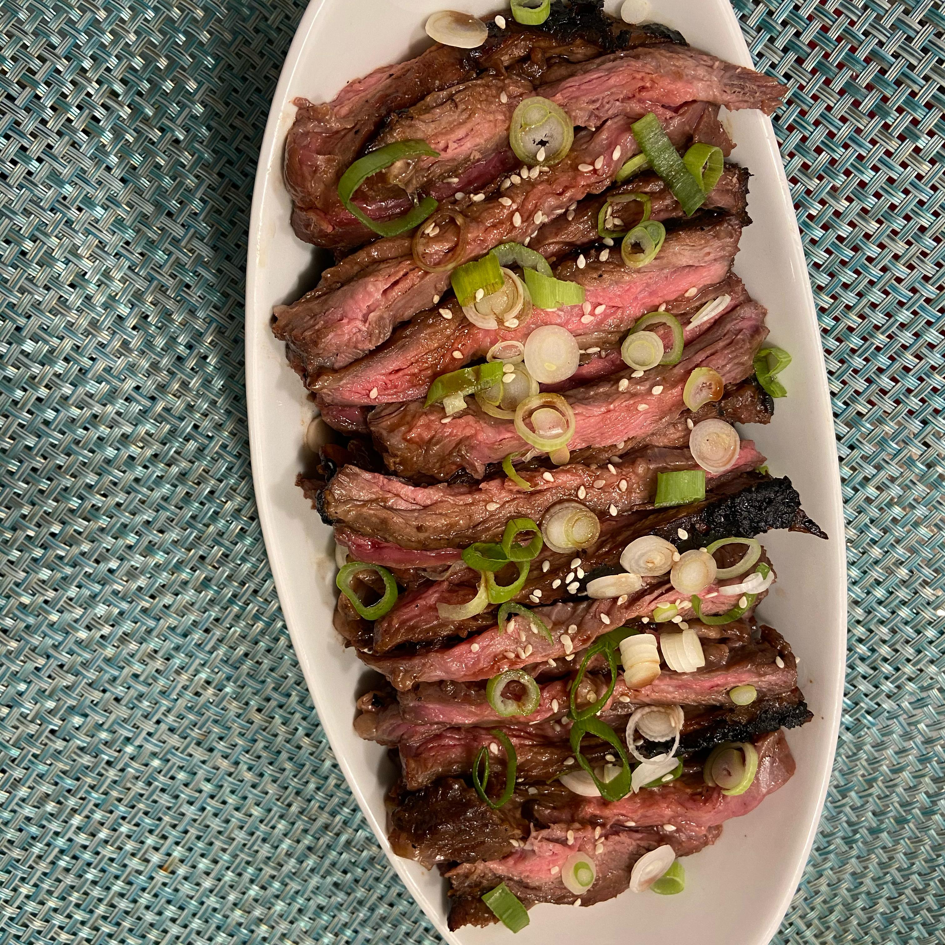 Grilled Hoisin Beef Mandy
