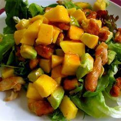 Chicken, Avocado and Mango Salad Zahra