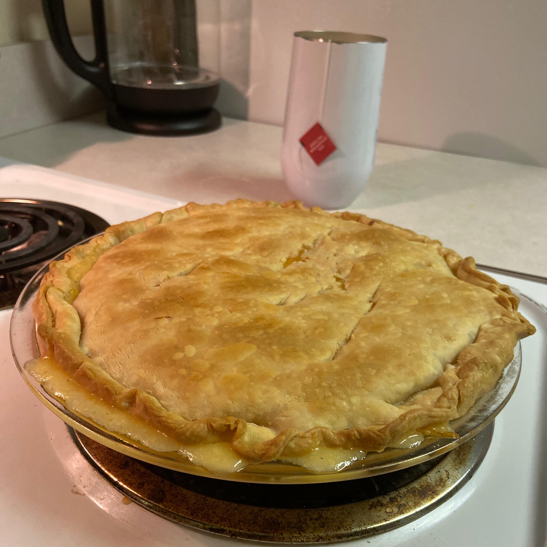 Cheesy Chicken Pot Pie Diane McBeth