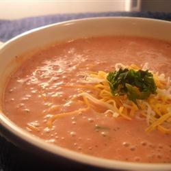 Tomato Blue Cheese Soup Linda T