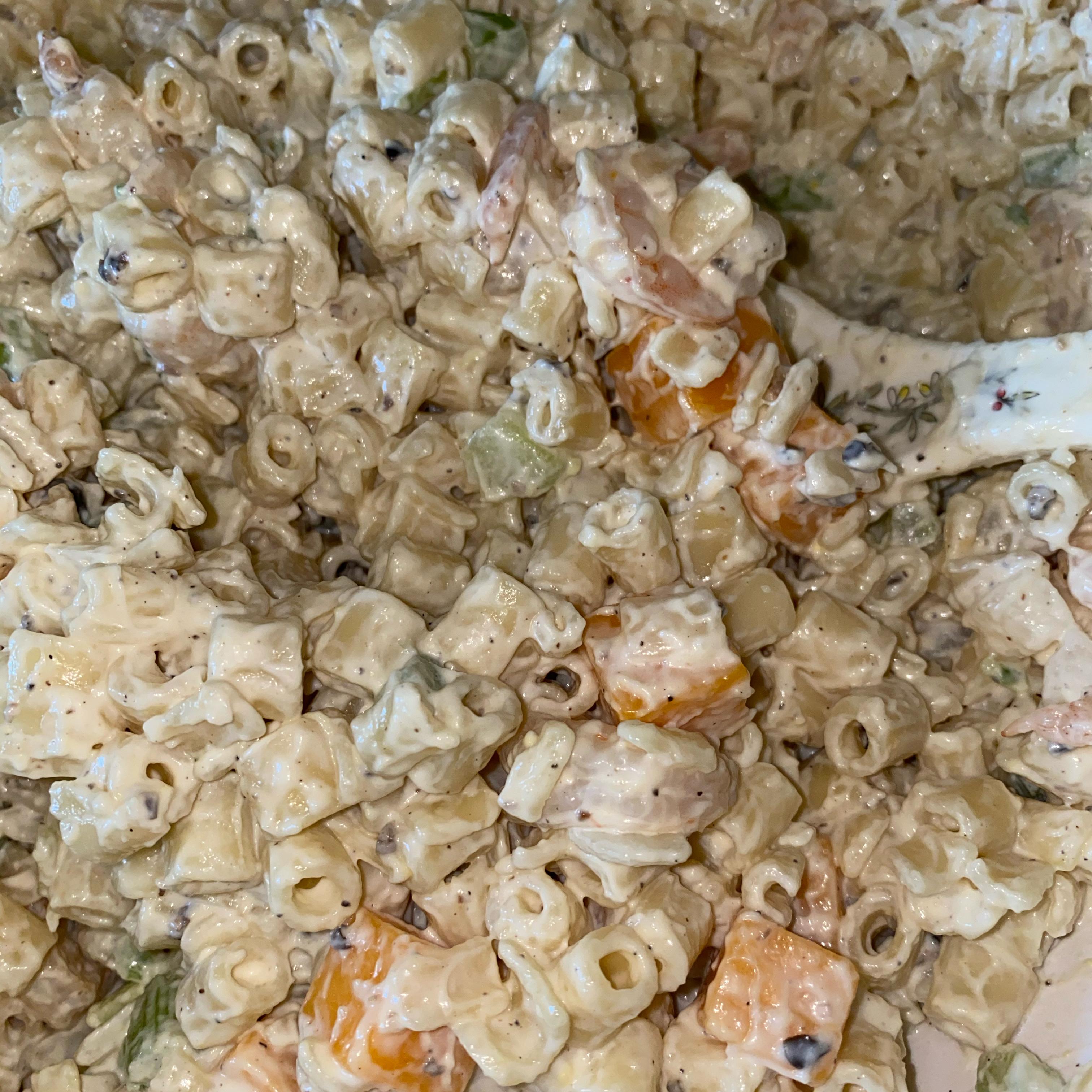 Mom's Shrimp Macaroni Salad Renae Davis