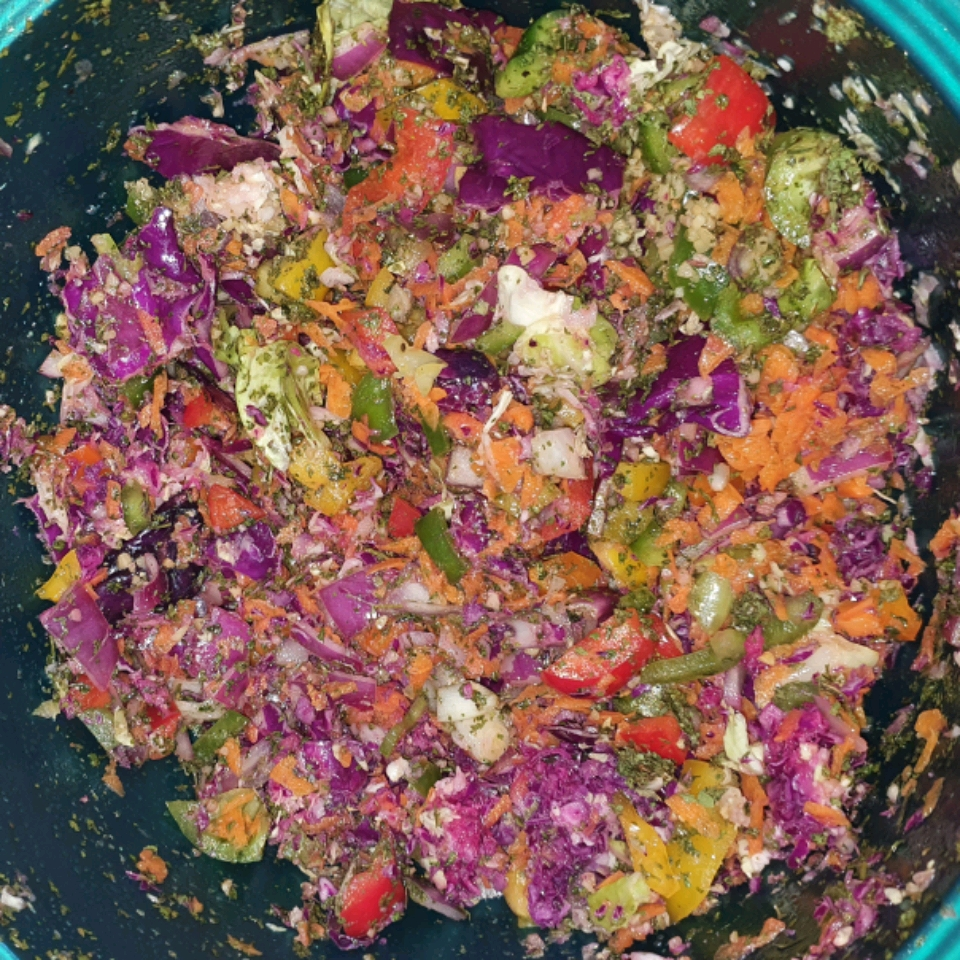 Colorful Coleslaw with a Kick