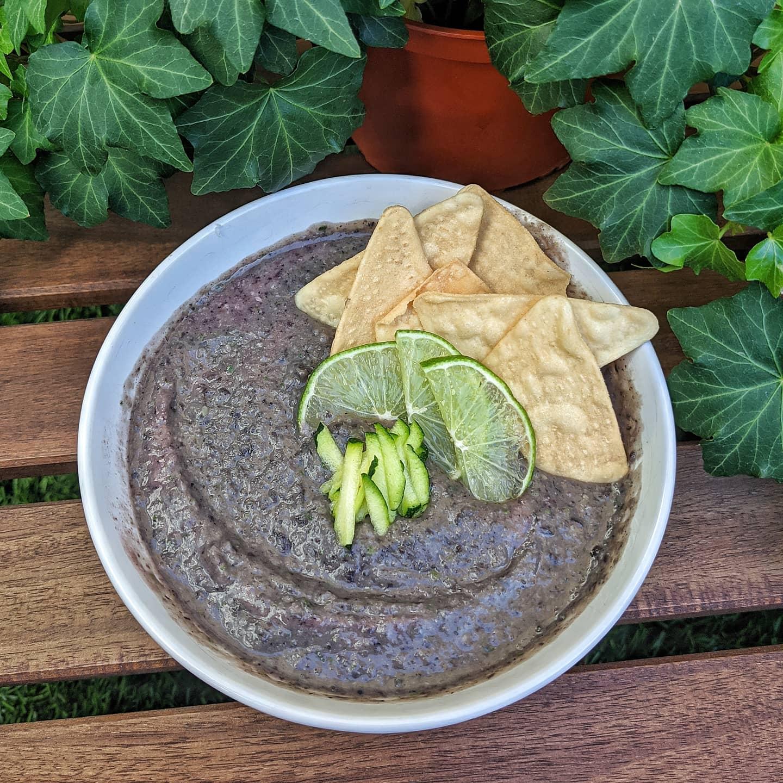 Easy Black Bean Hummus Danielle Stadelman RDN