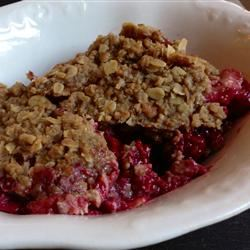 Frozen Berry Crumble