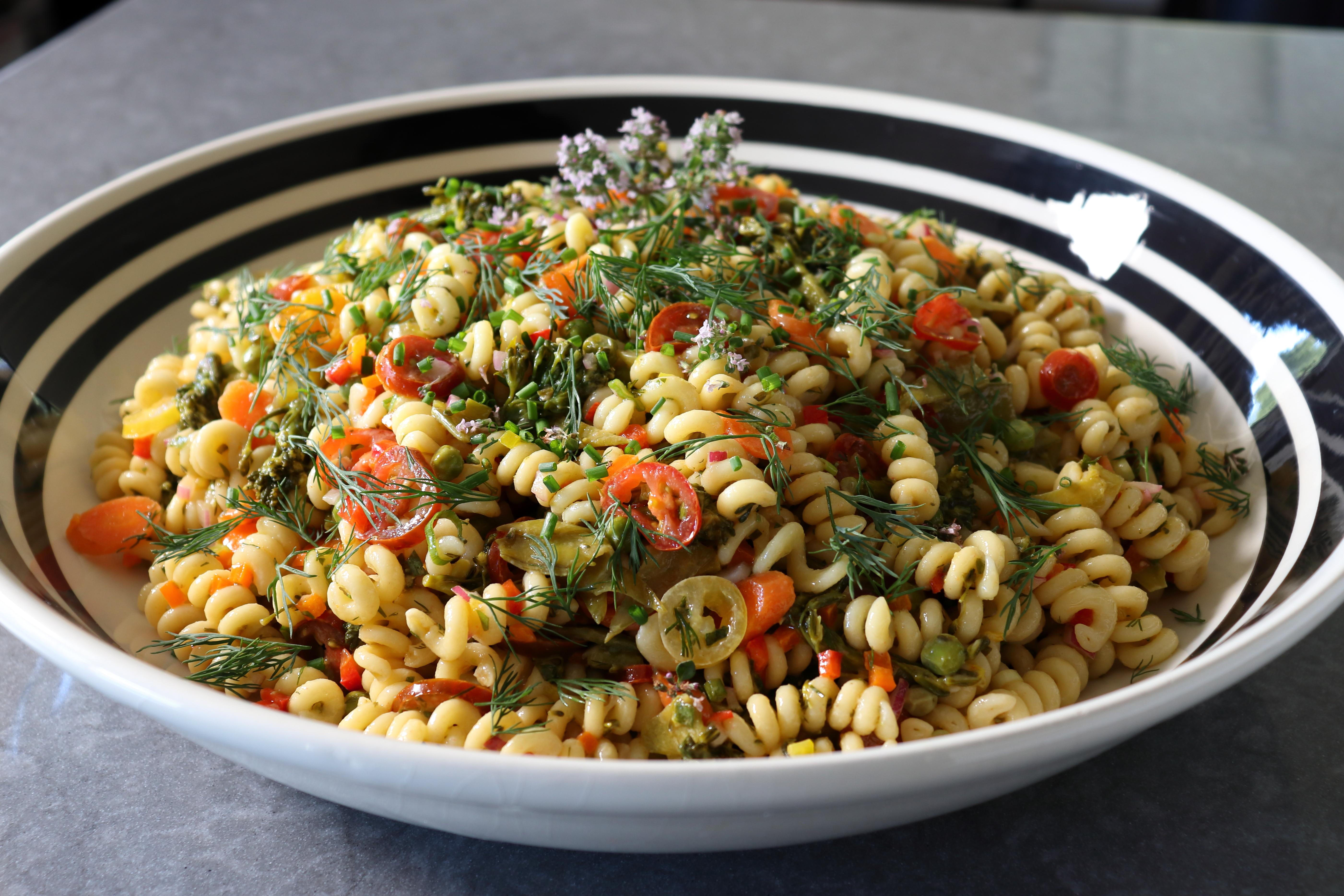 The Perfect Picnic Pasta Salad