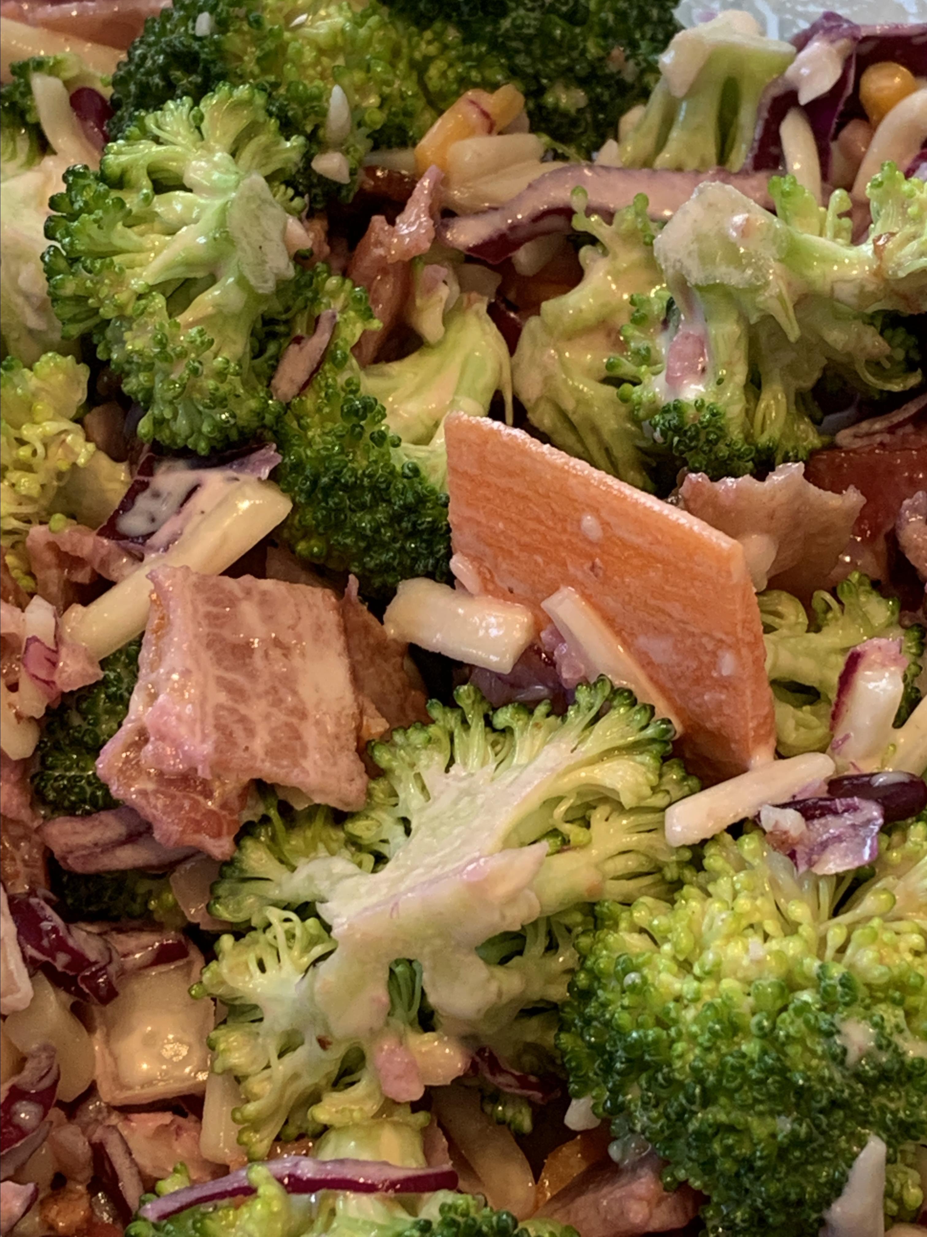Creamy Broccoli Salad Laura Selby