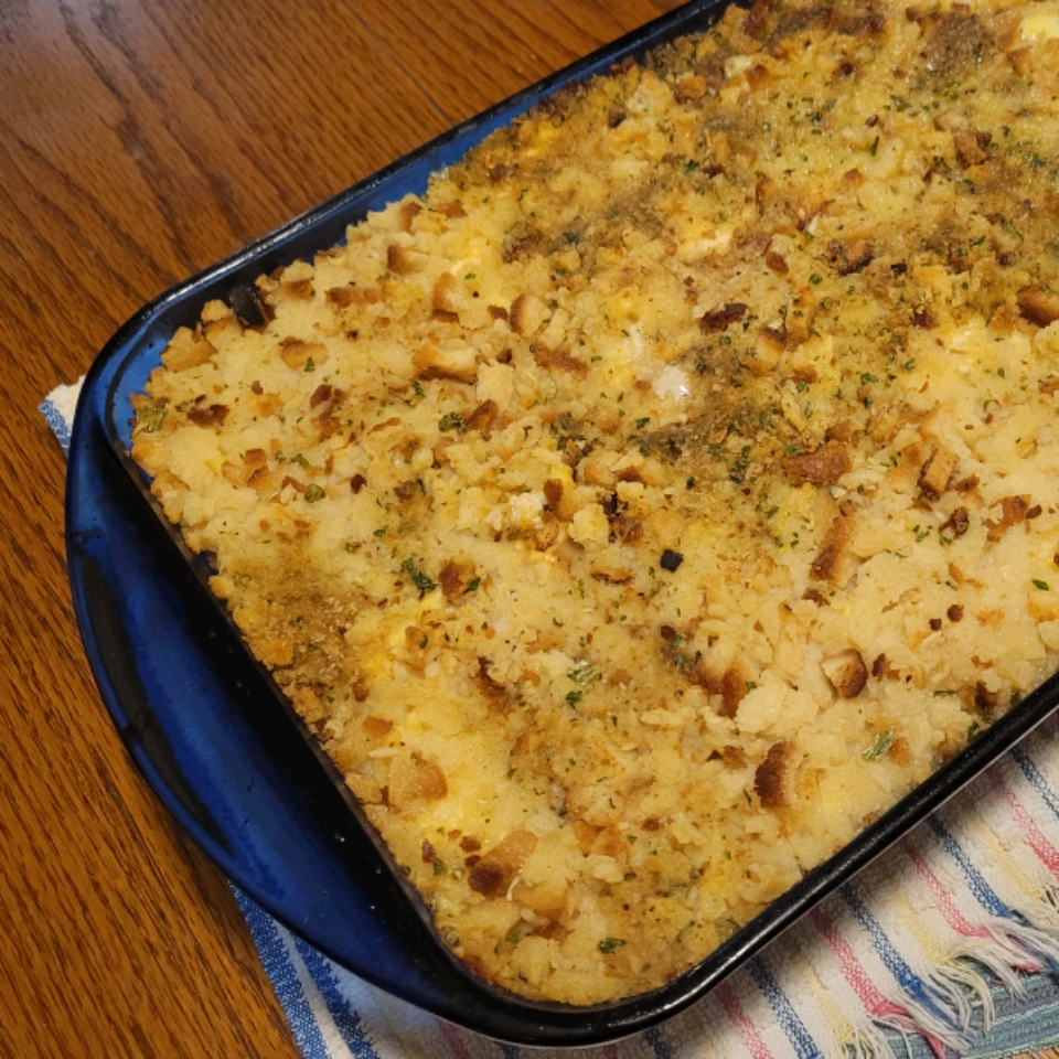 Quick and Easy Chicken and Stuffing Casserole Annie Gal