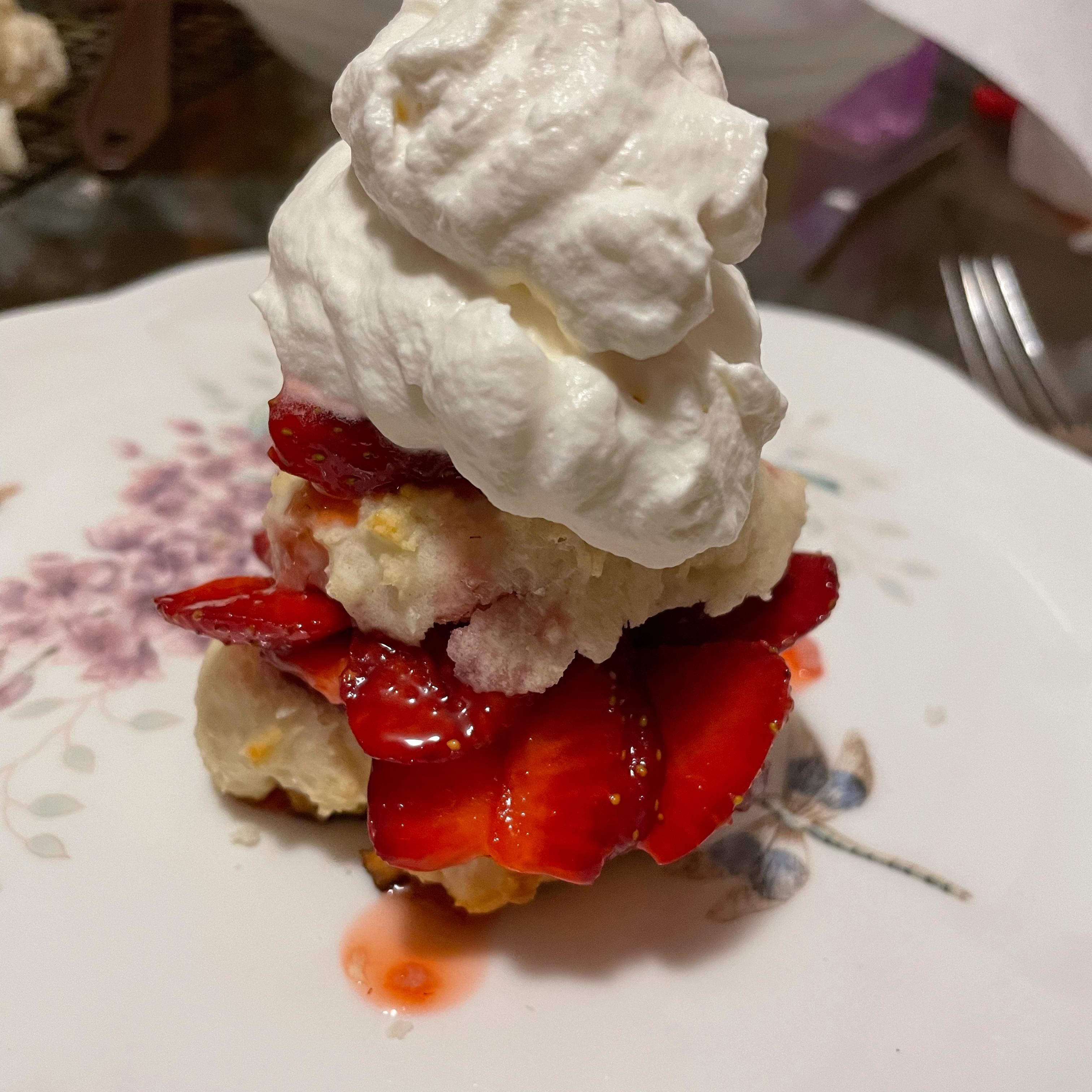 Classic Strawberry Shortcakes Shelly Korba Burelle