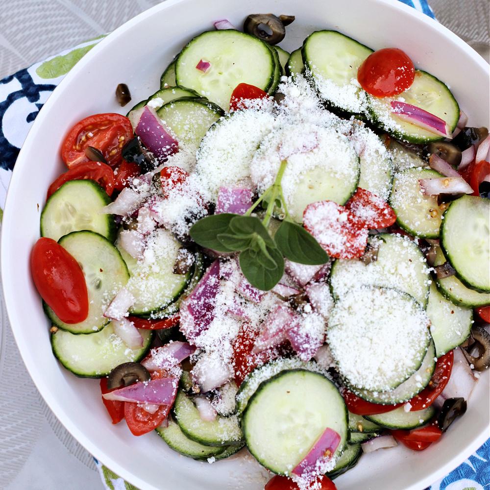 Standard Greek Salad ReneePaj