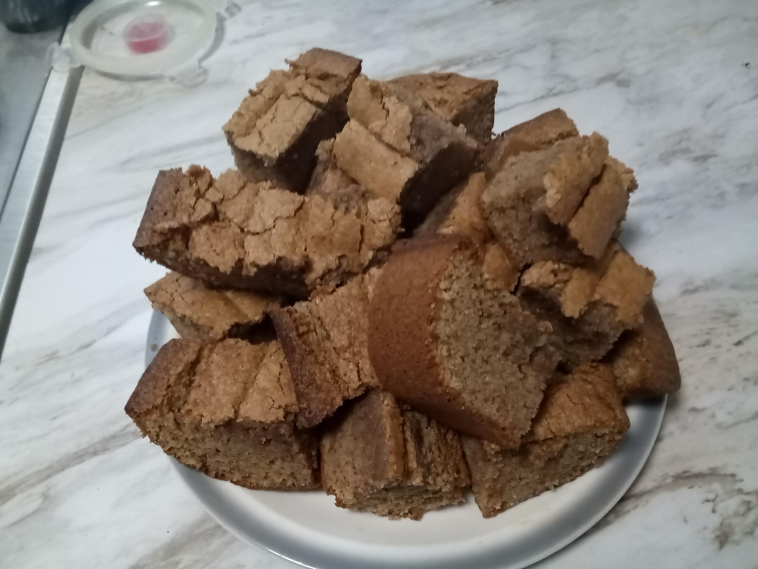 Georgia Cornbread Cake zulaikha mateen