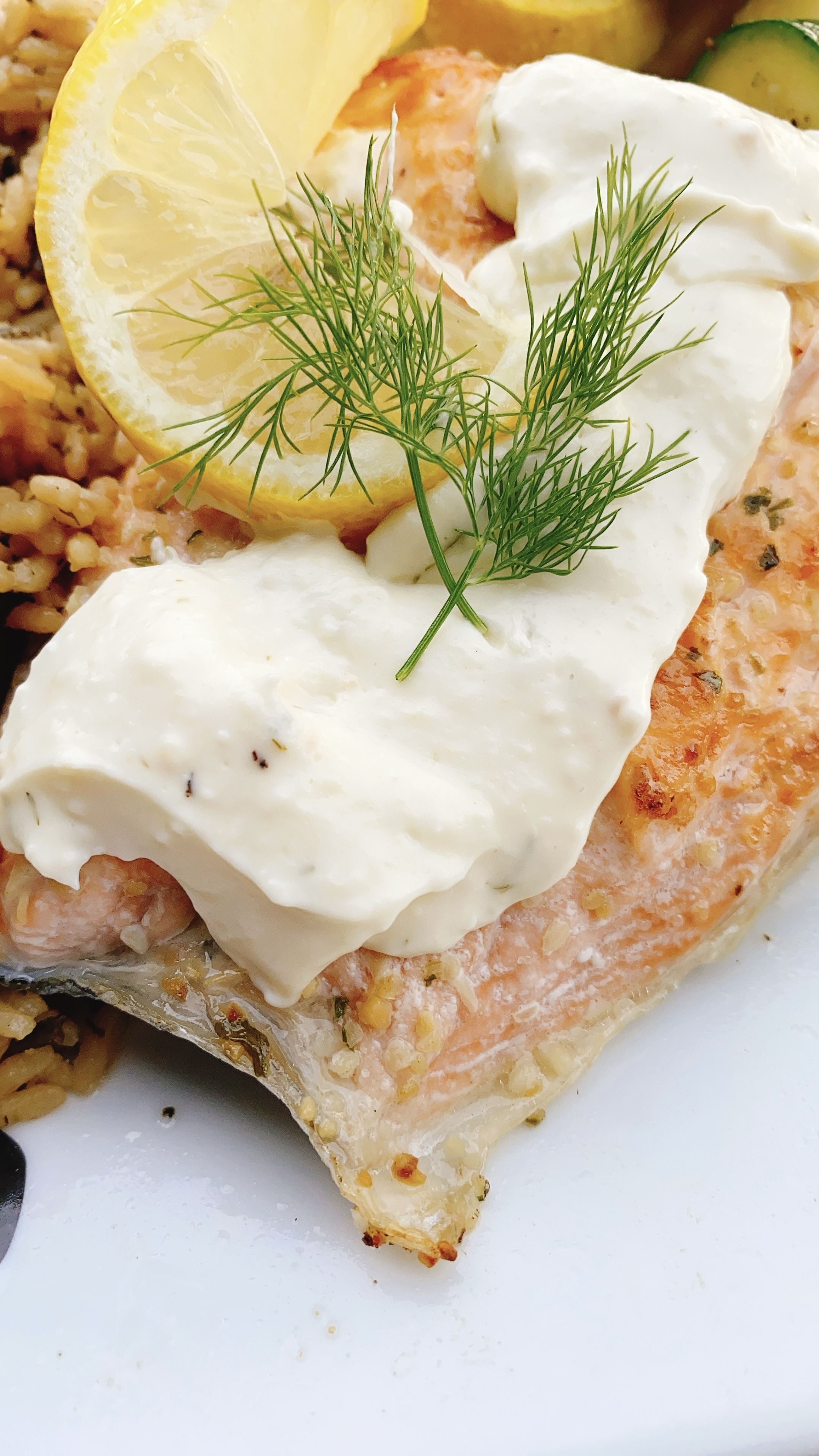 Lemon-Dill Sauce for Salmon