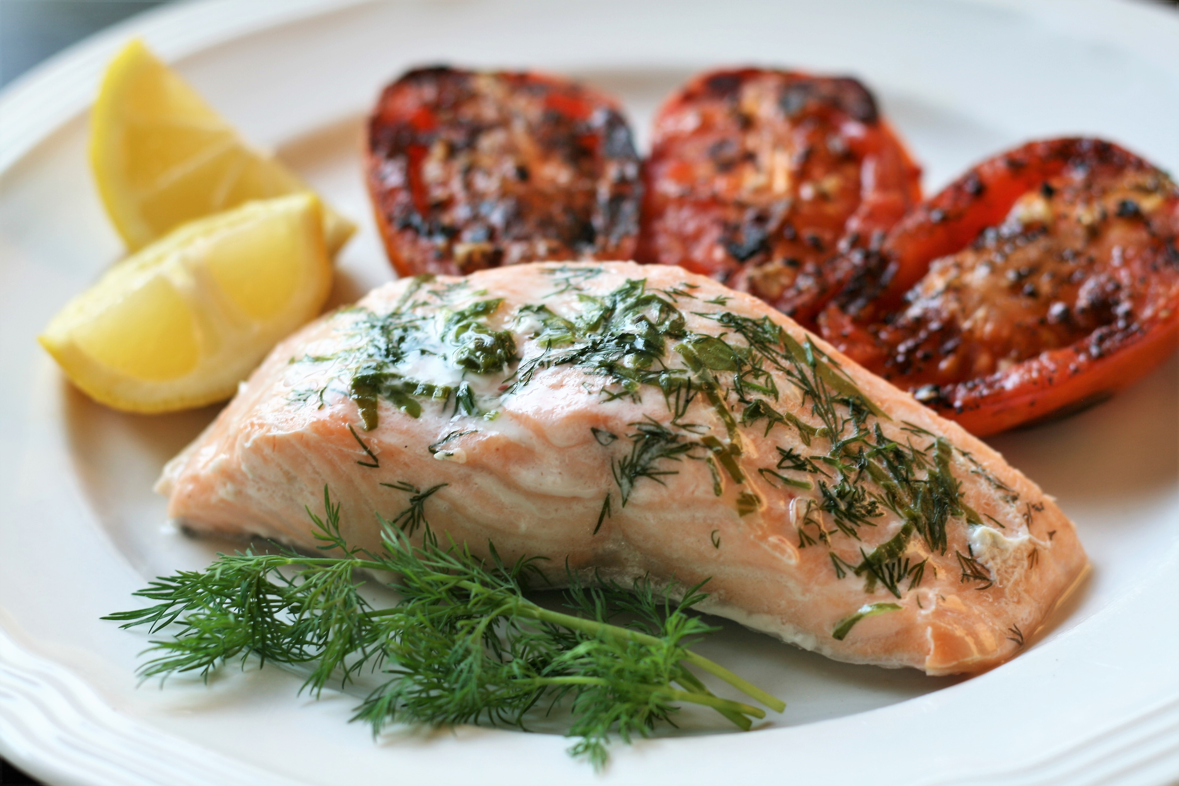 Citrus-Herbed Baked Salmon