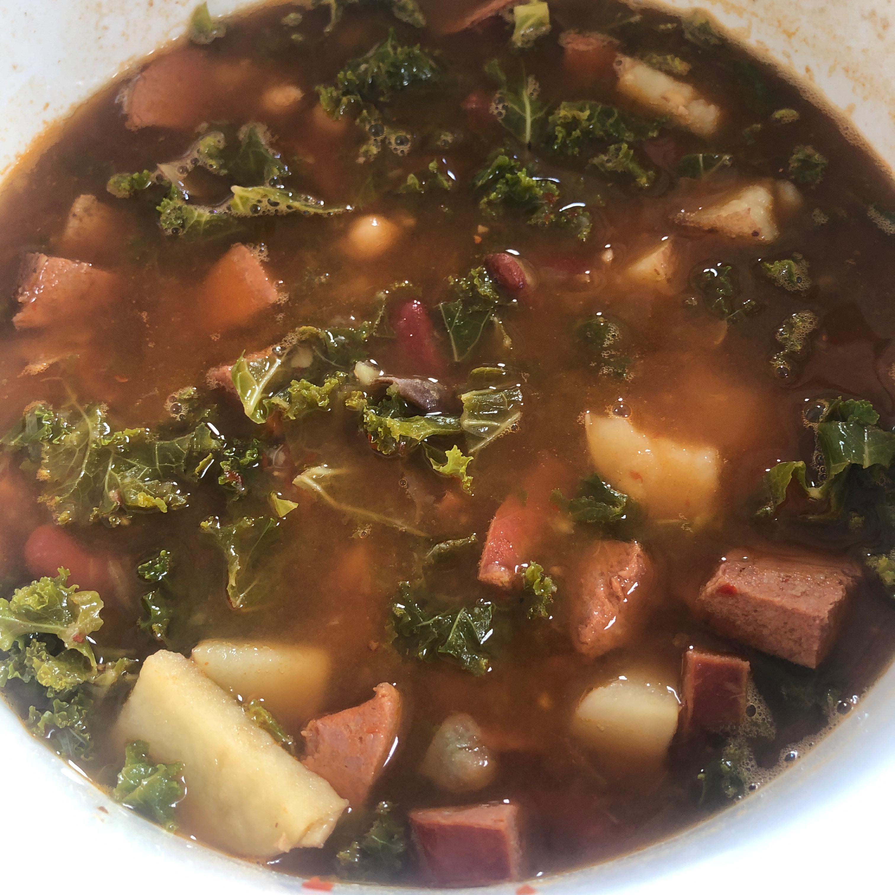 Kale Soup Karen Adams