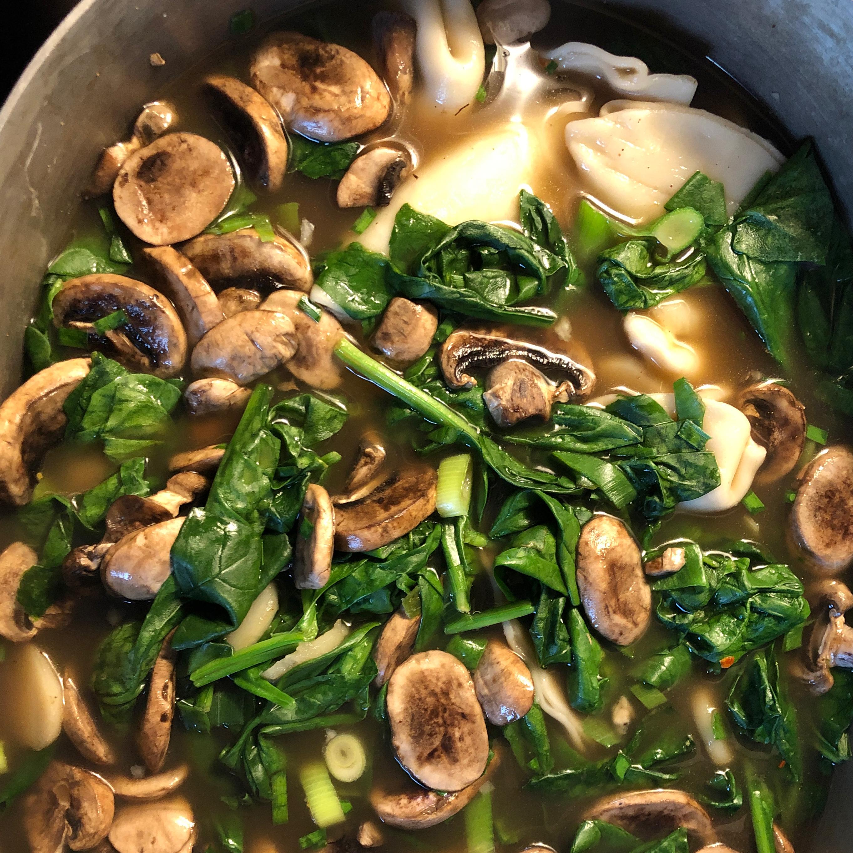 Weeknight Wonton Soup Paris Dolinger