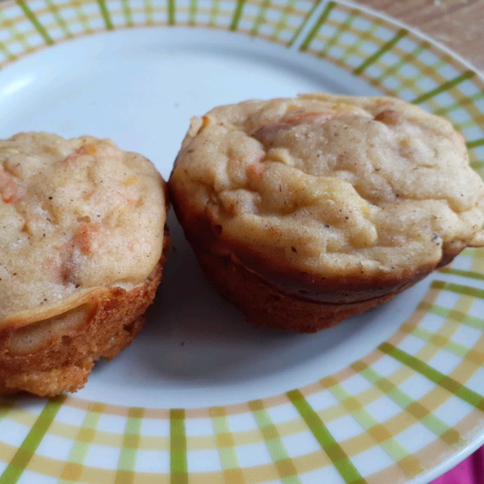 Carrot, Apple, and Zucchini Muffins