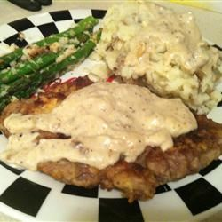 Country Fried Steak and Milk Gravy jalexander86