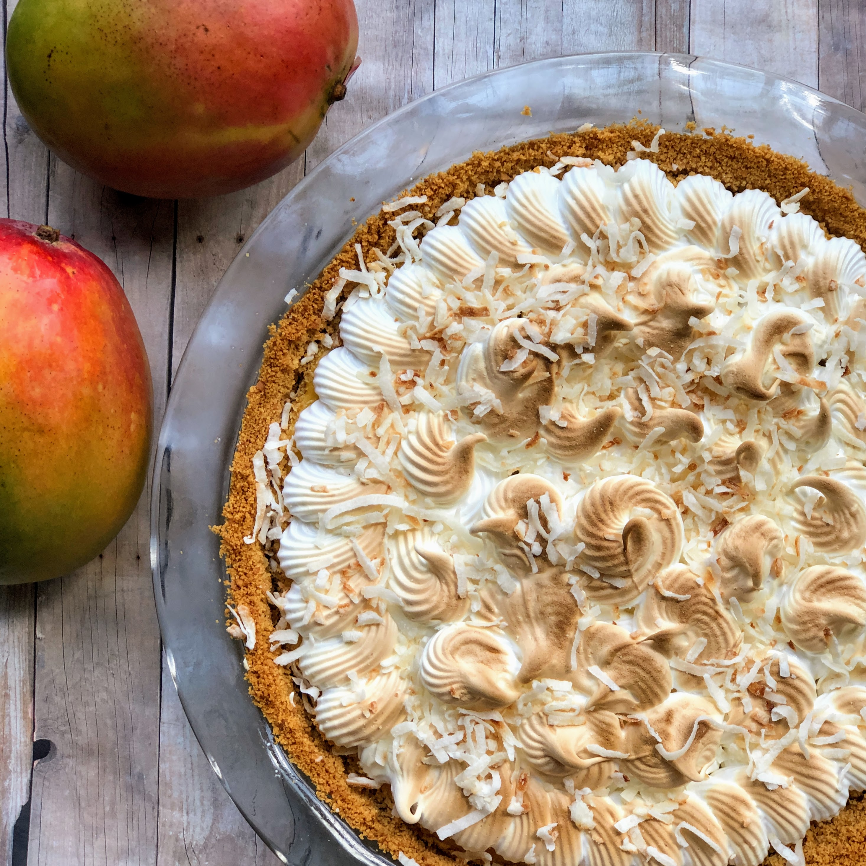 Blow-Your-Mind Coconut-Mango Pie Kim's Cooking Now
