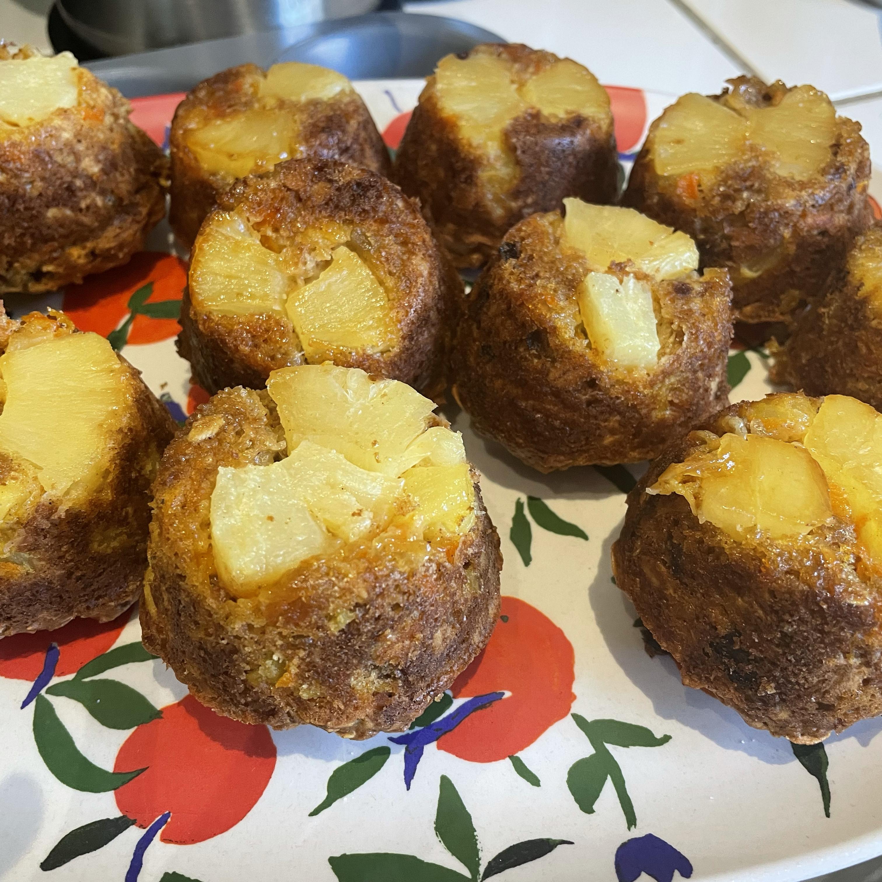 Pineapple Upside-Down Muffins Gayla