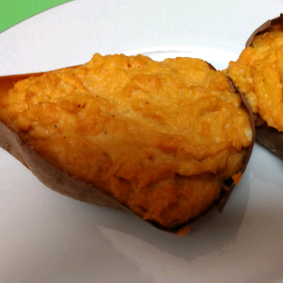 Twice Baked Sweet Potatoes Ramboette