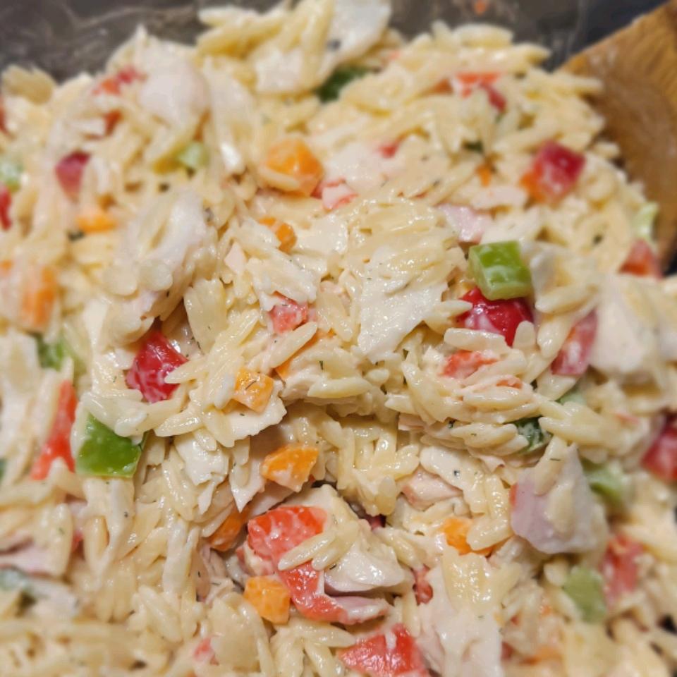 Crab and Orzo Salad jan bear