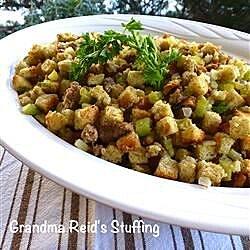 grandma reids stuffing recipe