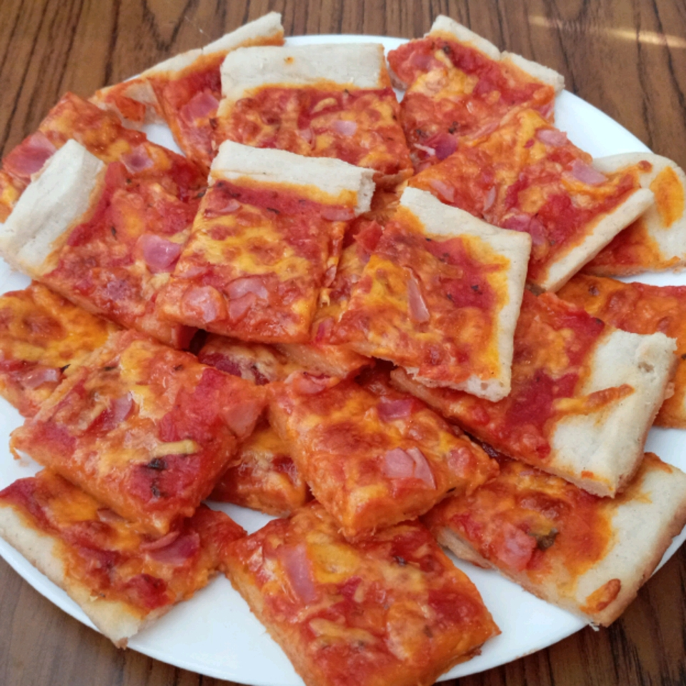 Quick and Easy Pizza Crust Taylor Merrell