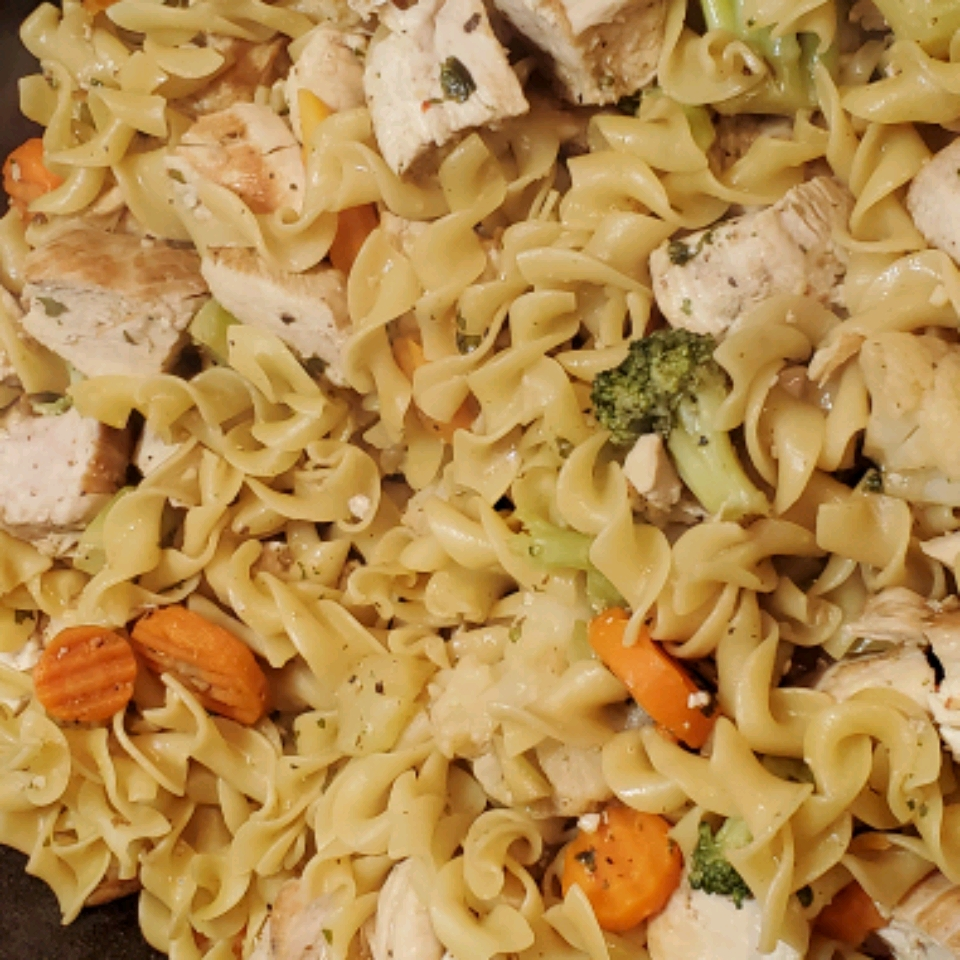 Quick Chicken and Noodles
