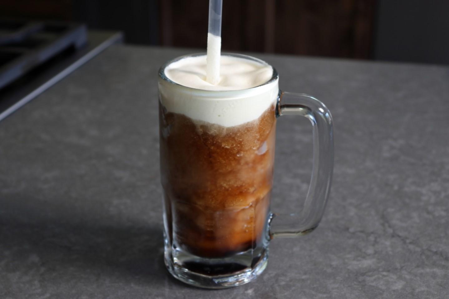 Old-Fashioned Root Beer Slushy
