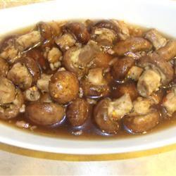 Raw Marinated Mushrooms Karie