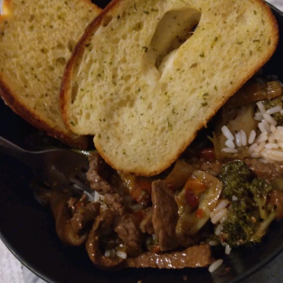 Sizzling Bison Steak Stir-Fry
