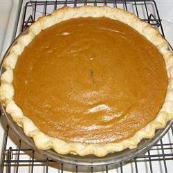 Signature Pumpkin Pie Sherry WV
