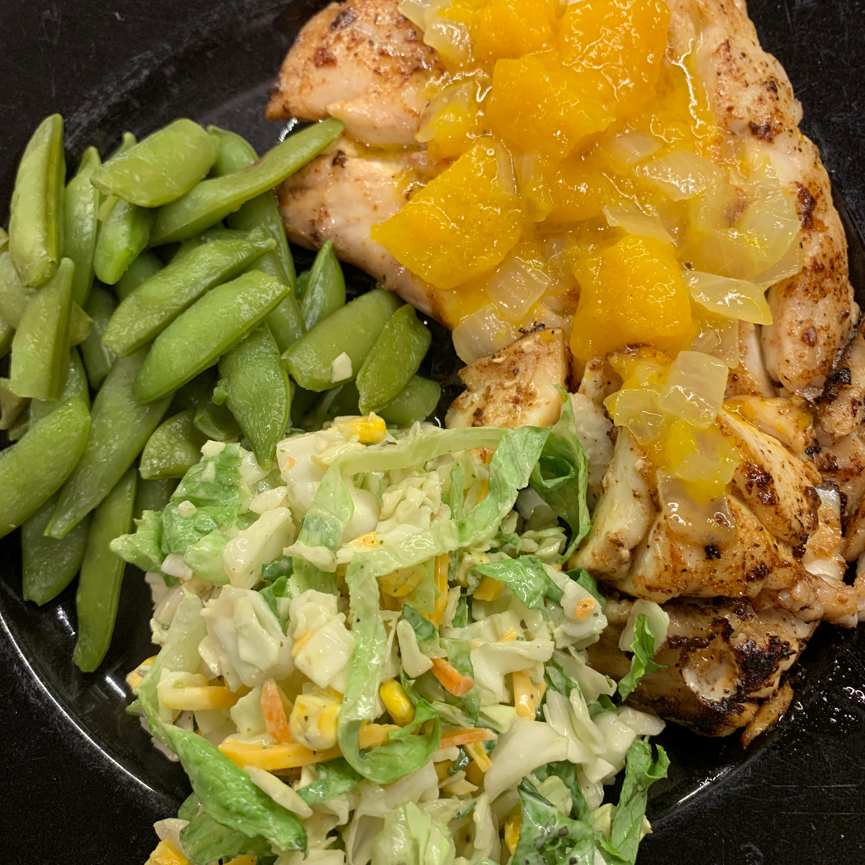 Grilled Grouper with Mango Butter Mrs. B