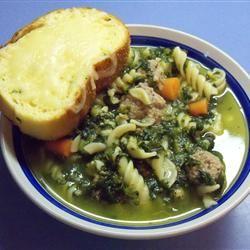 Mama's Italian Wedding Soup