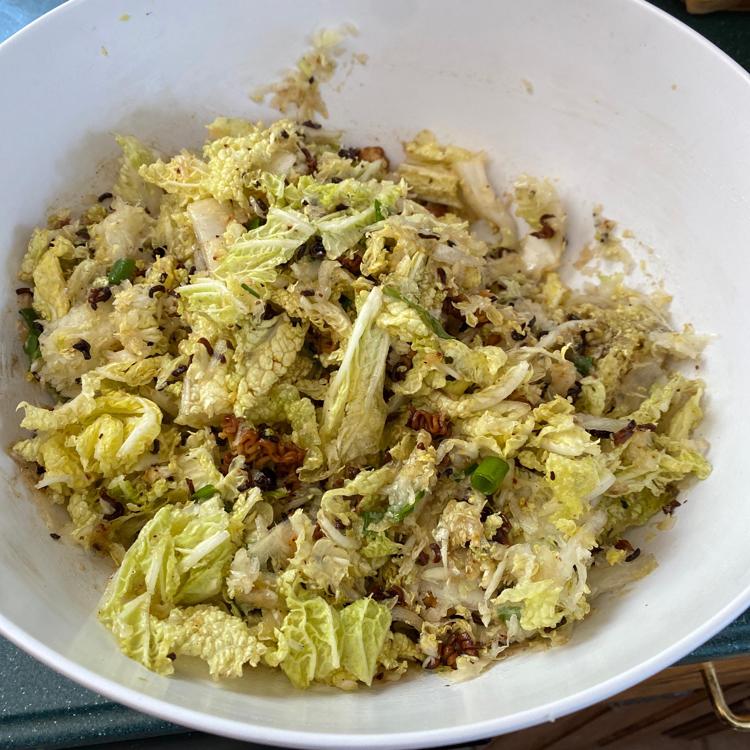 Chinese Napa Cabbage Salad Kelly
