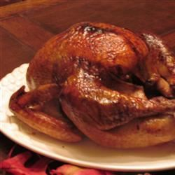 Herb-Glazed Roasted Turkey