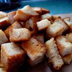 Garlic Croutons mediocre.housewife